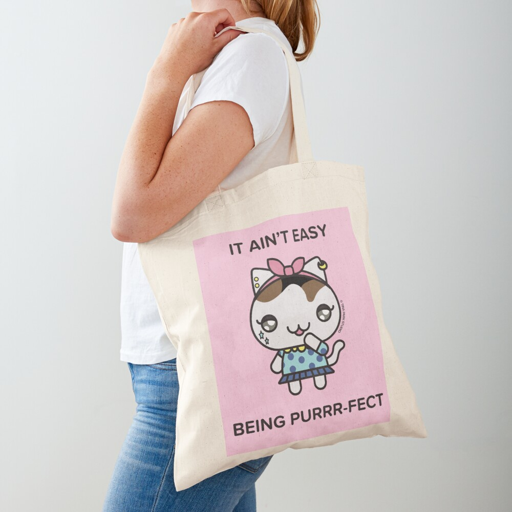 Chainsaw the Cat Tote Bag