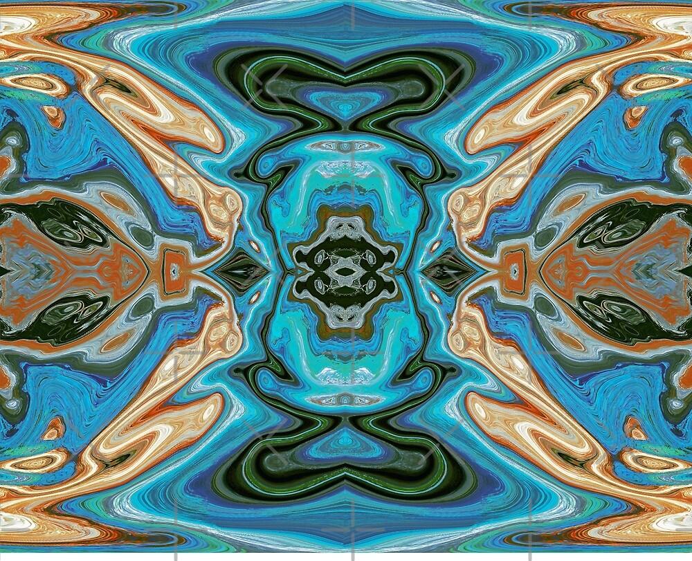 Blue Pattern by CarolM