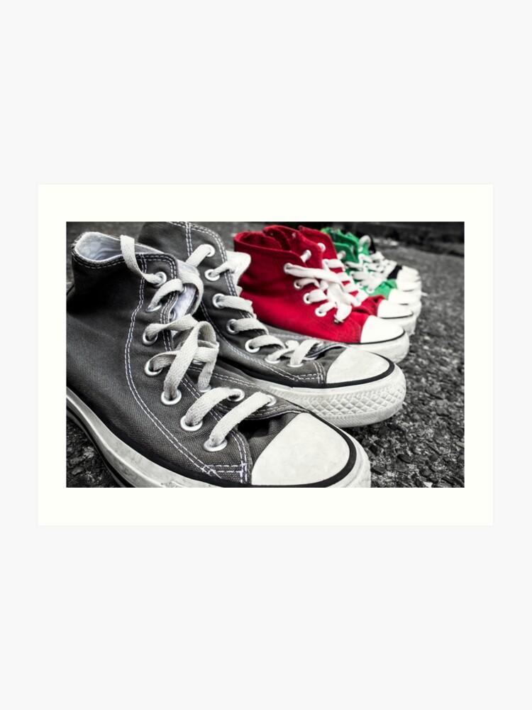 8b53358b424d8 Converse Row | Art Print