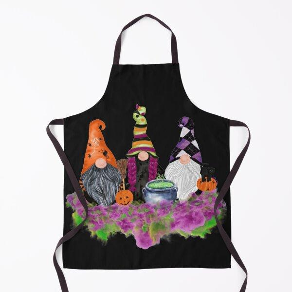 Halloween Gnomes Graphic  Apron