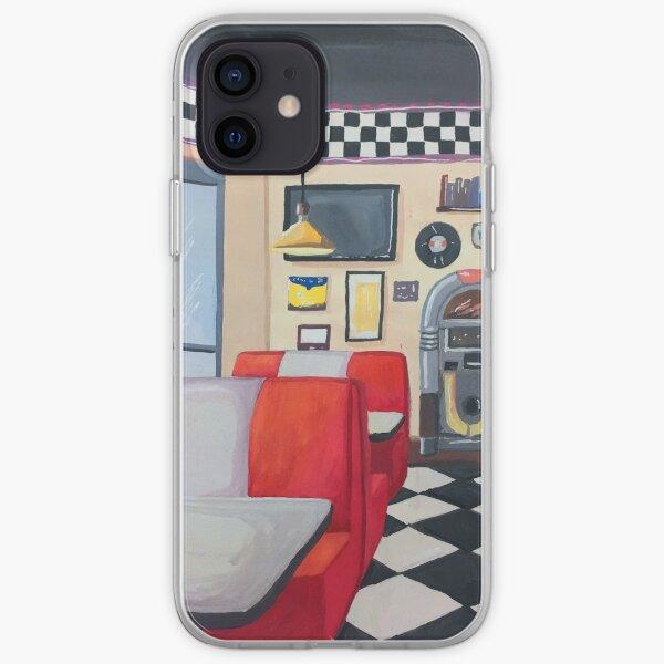 Retro Diner iPhone Soft Case