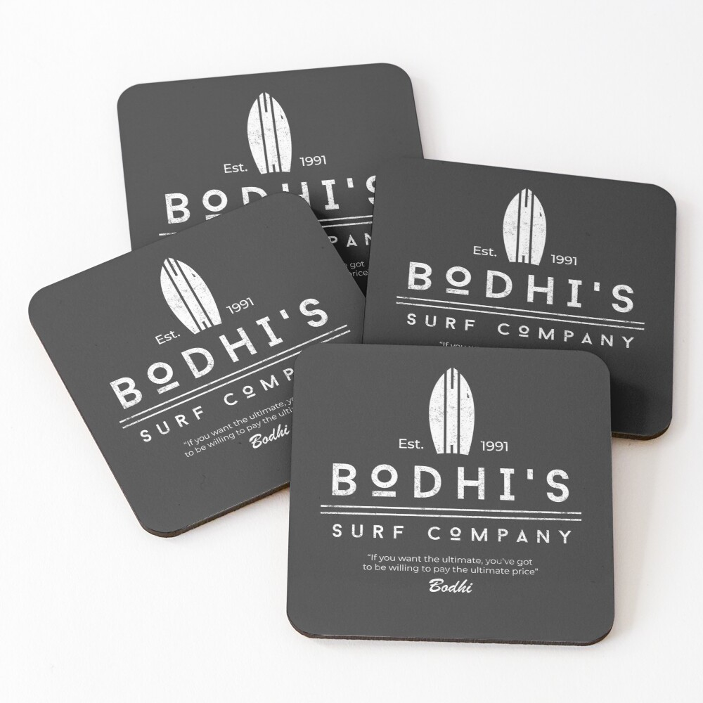 Bodhi's Surf Company Coasters (Set of 4)