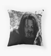 The Zombie on the Hill Throw Pillow