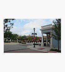 Southlake Town Square Photographic Print
