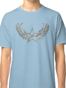 NAUTICAL STAR - Wings - Protection & Guidance SAILORS & TRAVELERS Classic T-Shirt