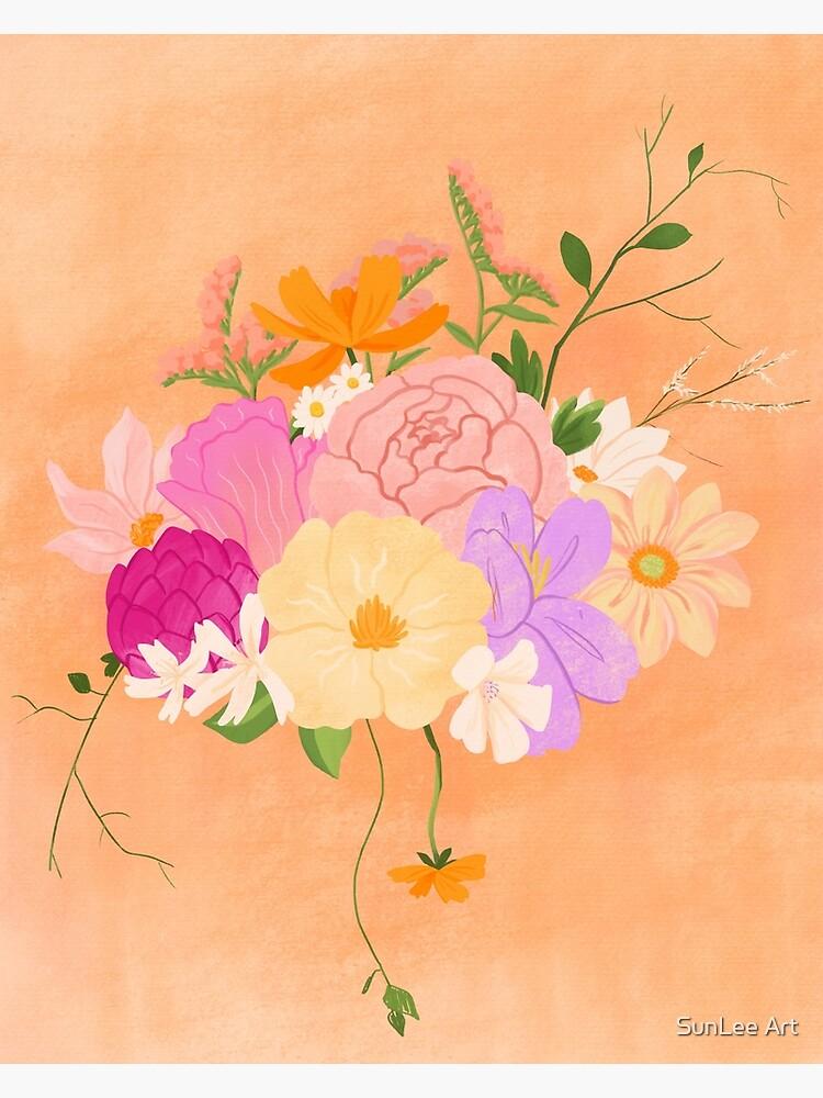 Boho Bouquet by sunleeart