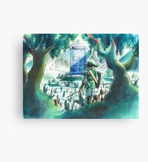 the Hero of Timey-Whimey Canvas Print