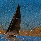 Pointillism in Boating by linaji