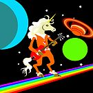 Rockin' Space Unicorn by starbright