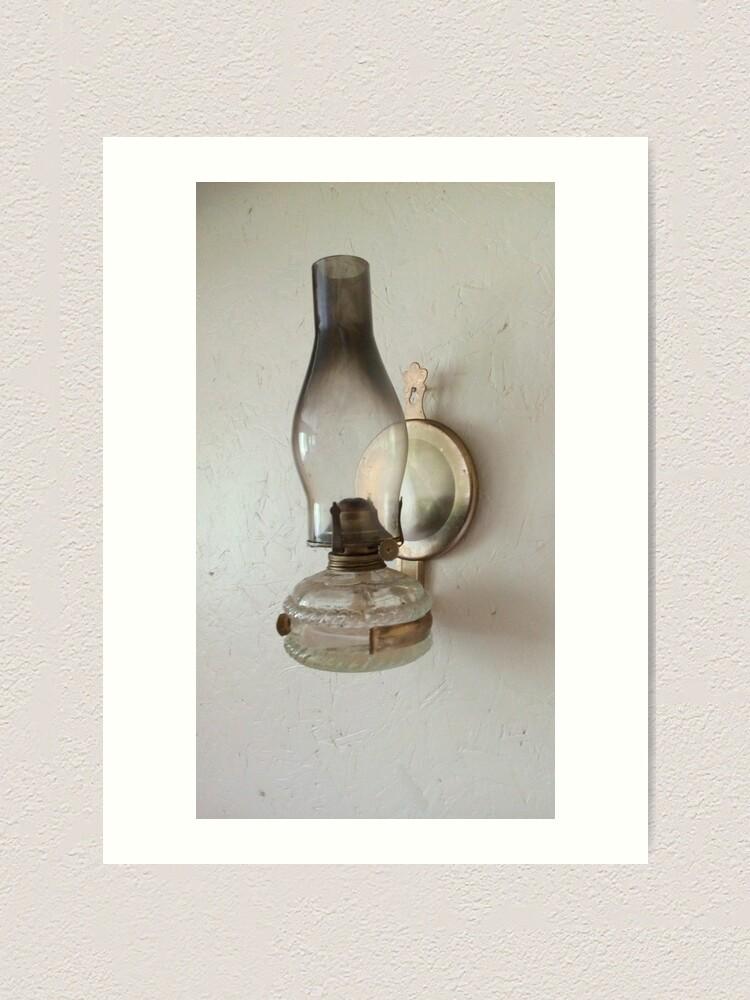Alternate view of Ye old oil  amp Art Print
