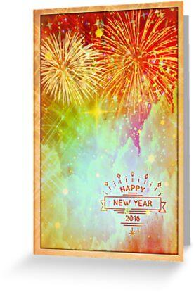 Happy New Year 2016 by Scott Mitchell