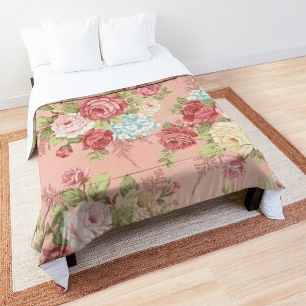 Shabby chic pink Comforter