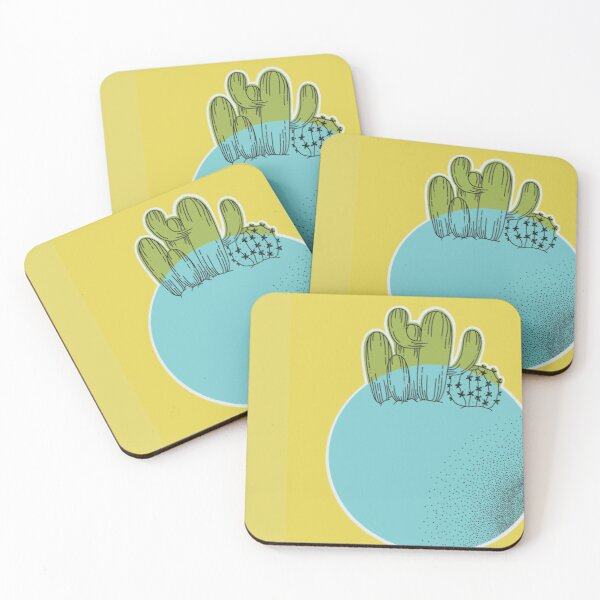 daydreaming in tucson Coasters (Set of 4)