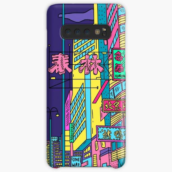 Neon city Samsung Galaxy Snap Case