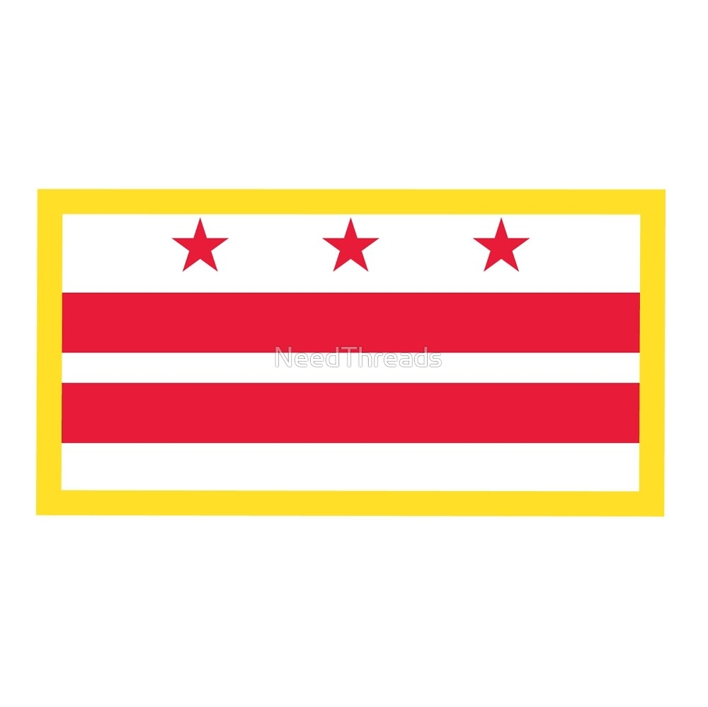 Washington, D.C. Flag by NeedThreads