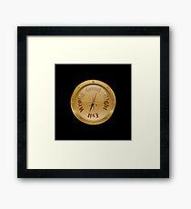 Moral Compass - Steampunk Framed Print