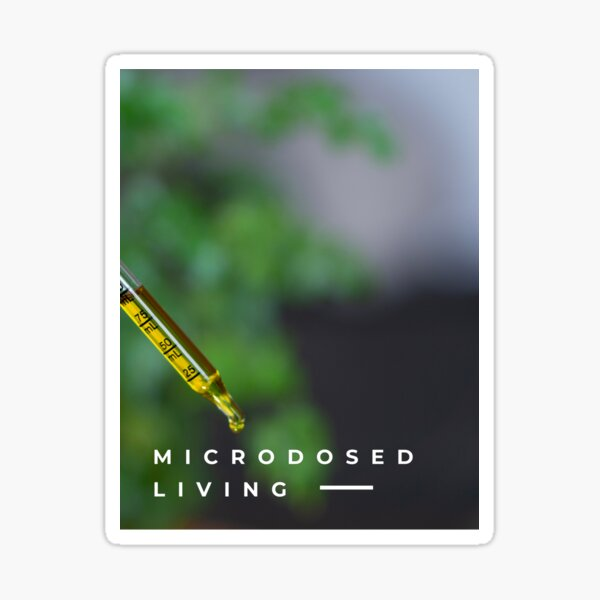 Micro by CannaDoula Sticker