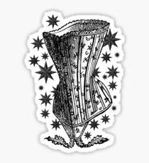 Starry Night Corset Tee Sticker