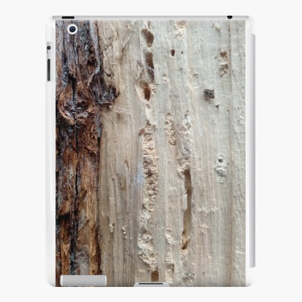log upclose 2 iPad Snap Case