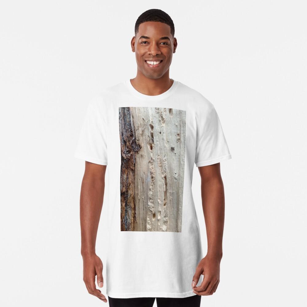 log upclose 2 Long T-Shirt
