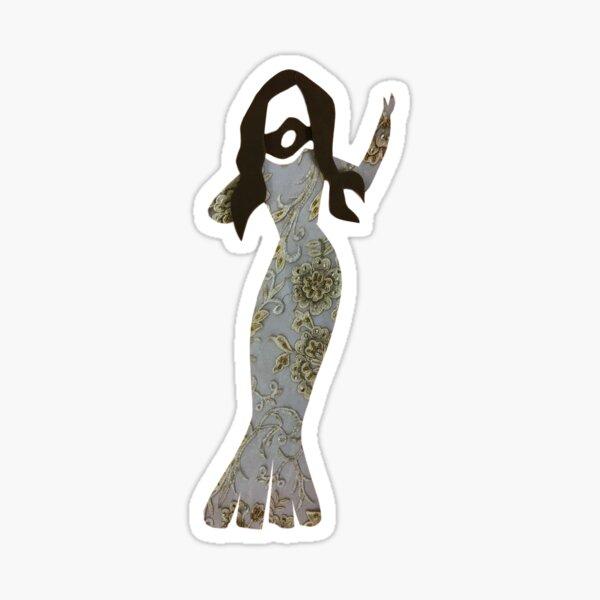 conchita mermaid Sticker