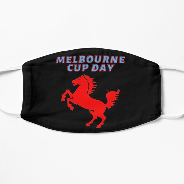 Melbourne Cup Day Flat Mask
