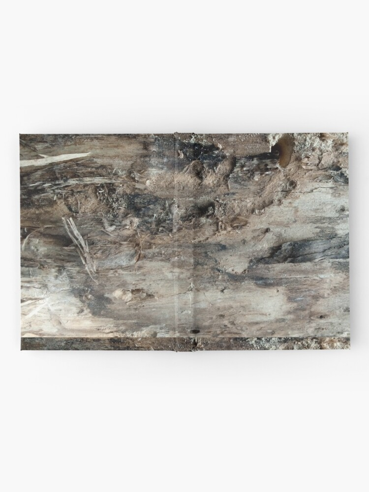 Alternate view of log upclose 3 Hardcover Journal