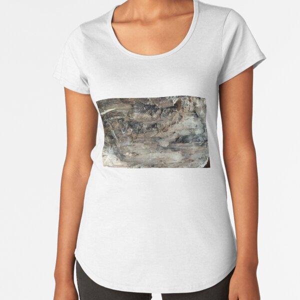 log upclose 3 Premium Scoop T-Shirt
