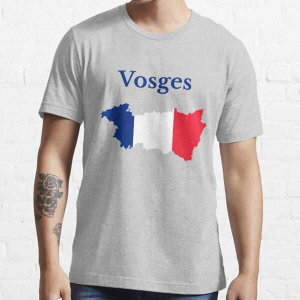 Carte des Vosges, France, Département français T-shirt essentiel
