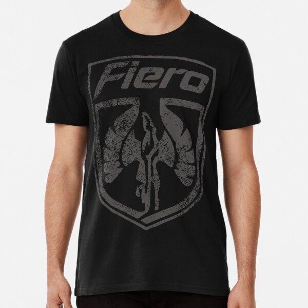80s Pontiac Fiero Sports Car Emblem Premium T-Shirt