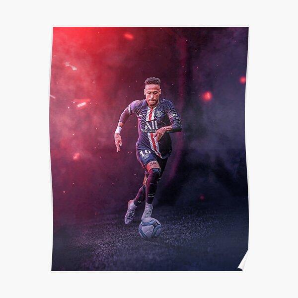 Fond d'écran Neymar illustration Poster