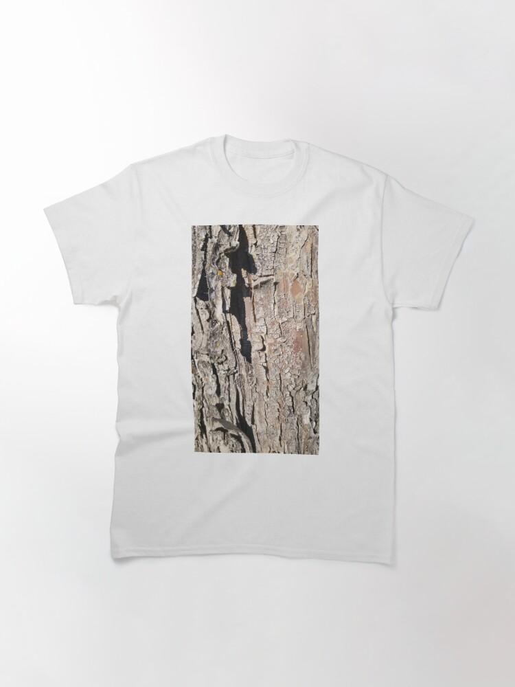 Alternate view of log up close 5 Classic T-Shirt
