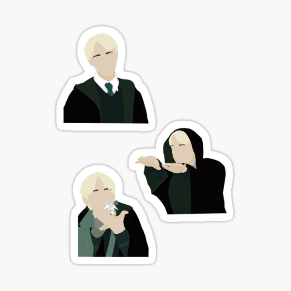 Draco Malfoy Set Sticker