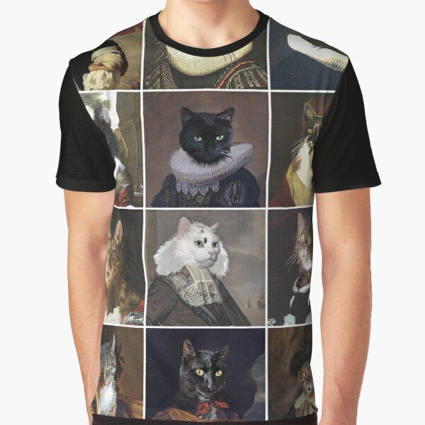 Catmiralty gallery poster Graphic T-Shirt