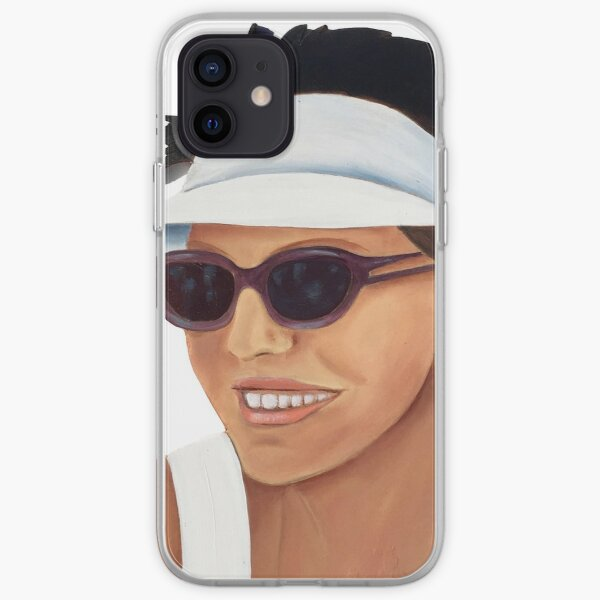 Timber Cut Out Girl iPhone Soft Case