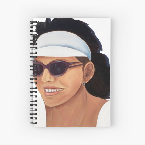 Timber Cut Out Girl Spiral Notebook