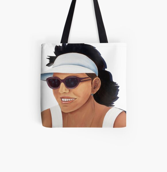 Timber Cut Out Girl All Over Print Tote Bag