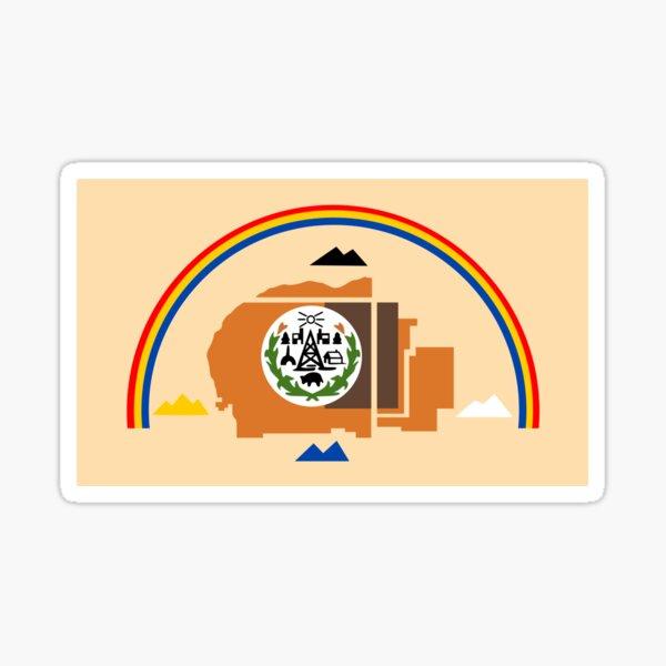 Navajo Flag Sticker