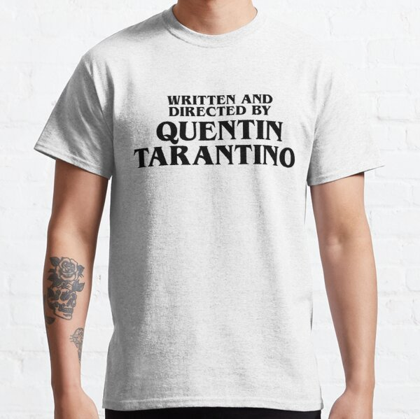 Written and Directed by Quentin Tarantino Black - Pulp Fiction T-shirt classique