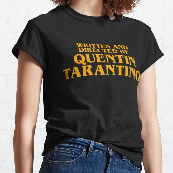 Written and Directed by Quentin Tarantino Orange - Pulp Fiction Classic T-Shirt