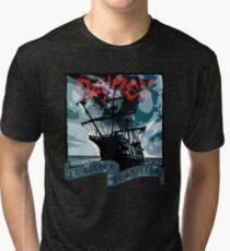 I'd Rather Be Sailin' Tri-blend T-Shirt