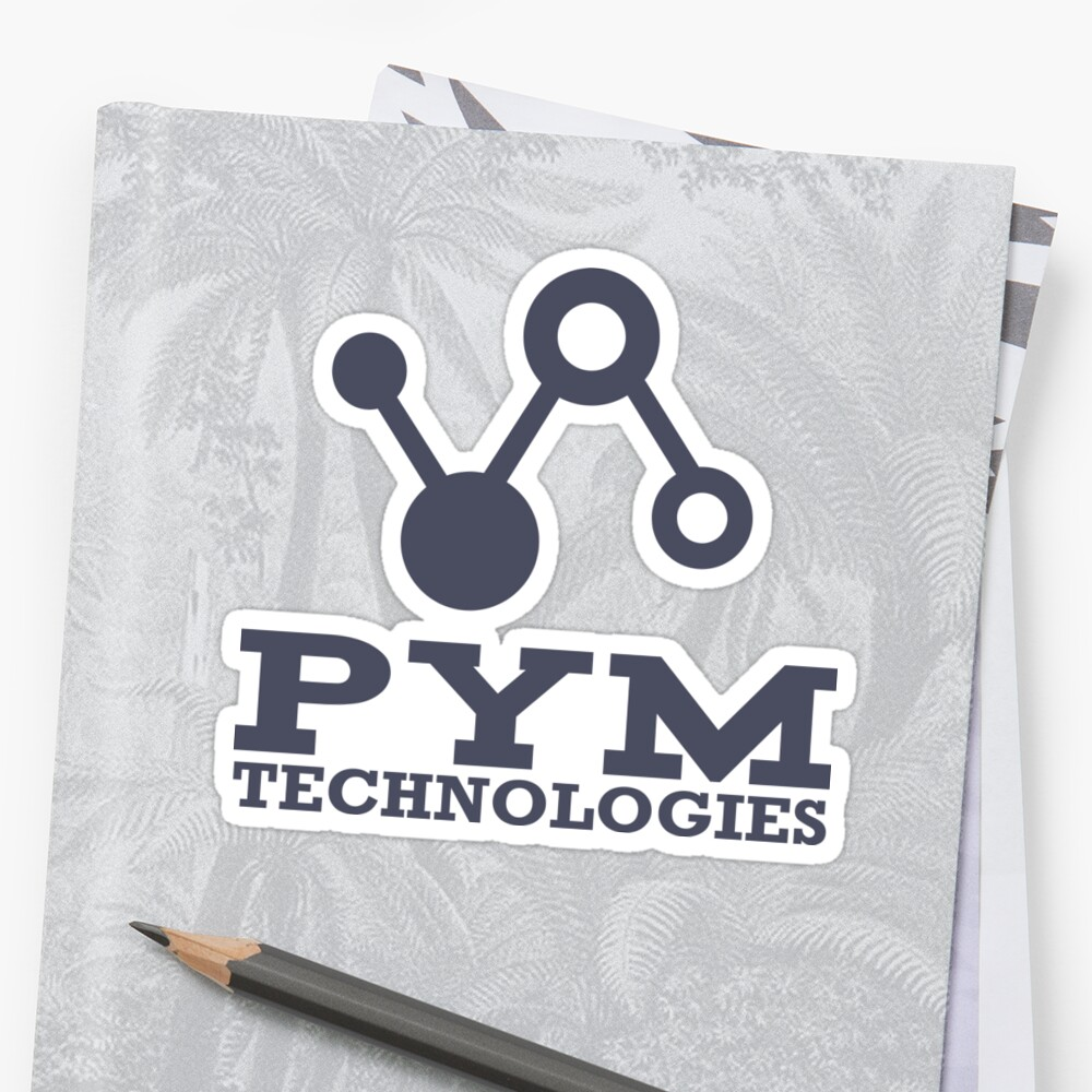 Pym Technologies Logo blue by LURKnz