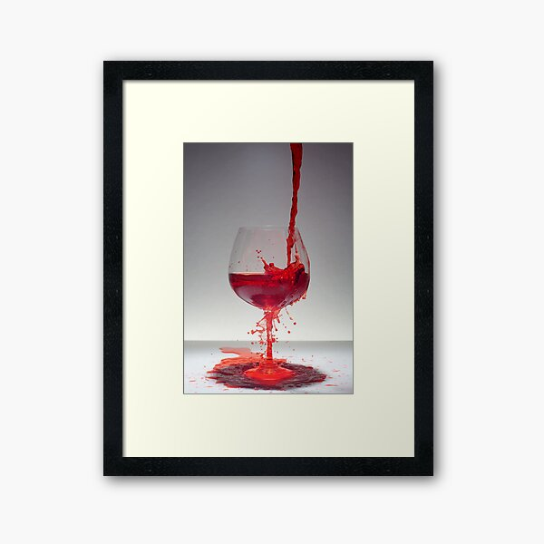 When passion takes over Framed Art Print