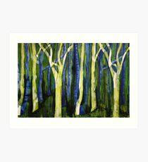 Woodlands Art Print