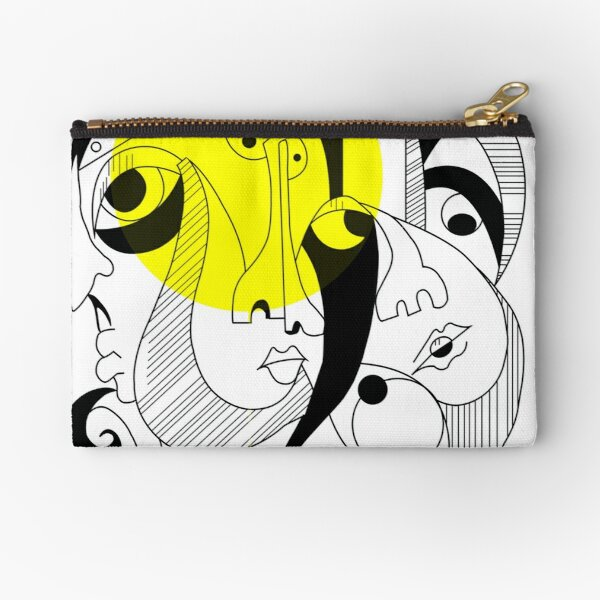 in the face Zipper Pouch