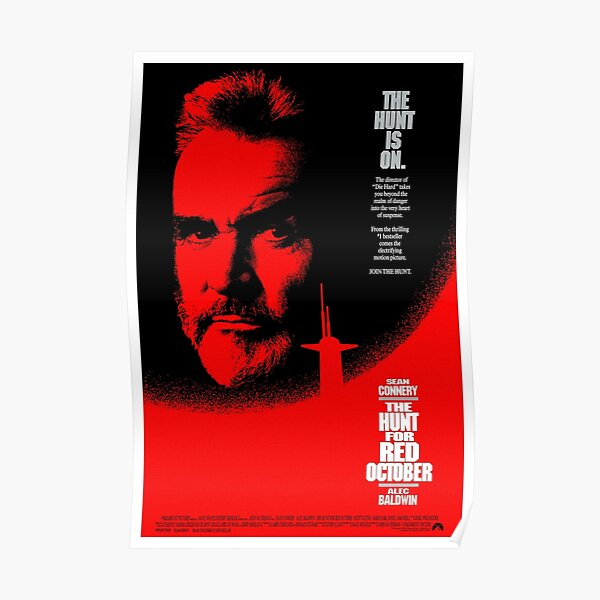 The Hunt for Red October (1990) Poster