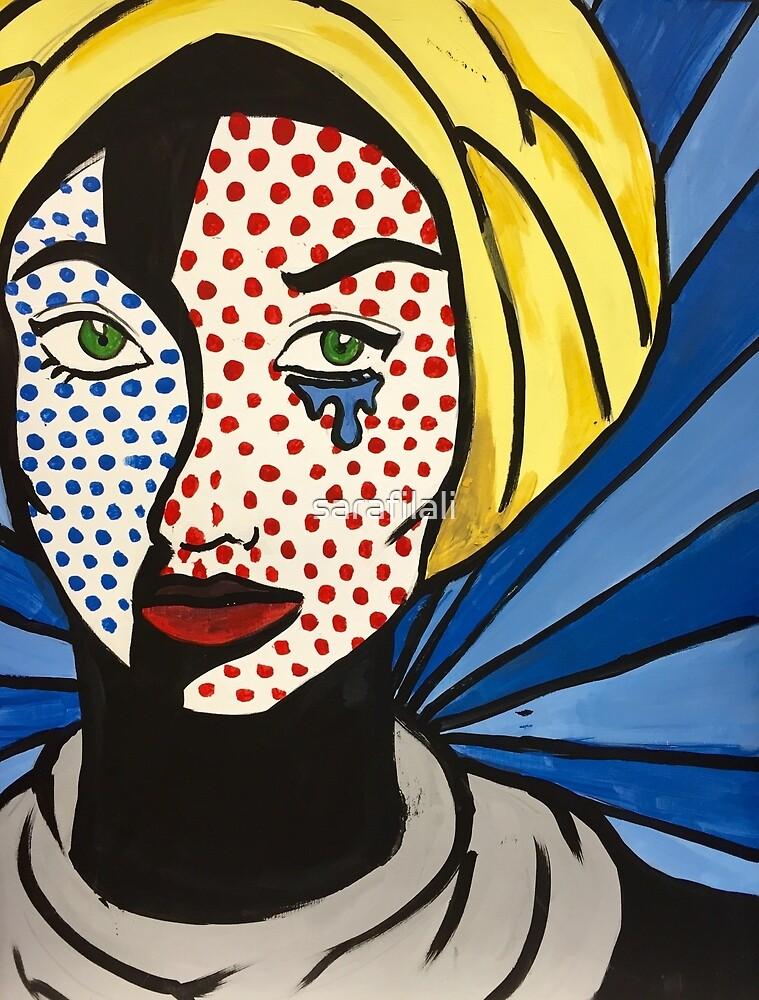 Lichtenstein's Muslimah by sarafilali