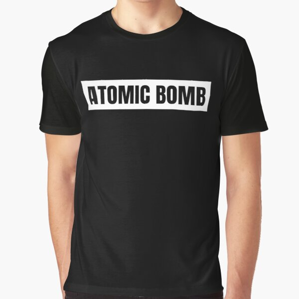 Atomic Bomb Graphic T-Shirt