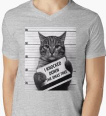 This would be My Cat Men's V-Neck T-Shirt