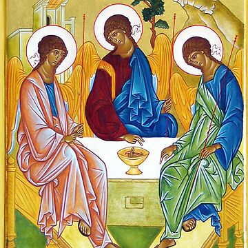Icon - Peter, James and John Trinity  by carpediem6655